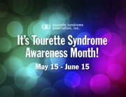 tourette syndrome awareness Tourette Syndrome Awareness Month